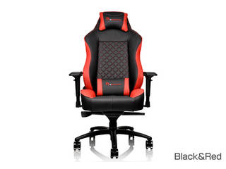 Tt eSPORTS GT Confort ゲーミングチェア Black&Red GC-GTC-BRLFDL-01 【沖縄・九州・北海道・離島お届け不可/配送時間指定不可】