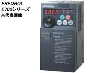 MITSUBISHI/三菱電機 【代引不可】FR-E710W-0.2K 簡単・パワフル小形インバータ FREQROL-E700シリーズ (単相100V)