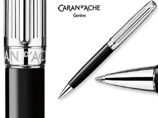CARAN dACHE/カランダッシュ 【Leman/レマン】バイカラー ブラック ボールペン 4789-289