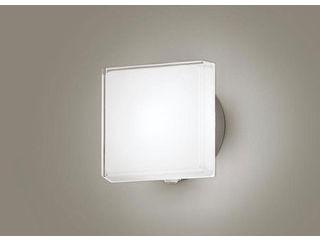Panasonic/パナソニック LGWC80325LE1 LEDポーチライト プラチナメタリック【昼白色】【明るさセンサ付】【壁直付型】