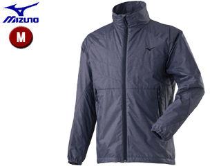mizuno/ミズノ A2ME8501-14 ブレスサーモ ライトシェルジャケット メンズ 【M】 (イブニングブルー杢)