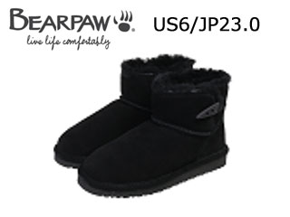Bear paw/ベアパウ CI4BT002W ムートンブーツ Jonnie (Charcoal) 【US6/JP23.0】【日本正規品】