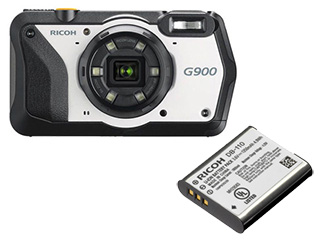 RICOH/リコー G900+DB-110 充電式バッテリーセット 【g900set】