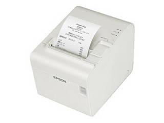 EPSON/エプソン サーマルレシートプリンター/80mm/USB・有線LAN/大径ロール紙対応/クールホワイト TM902UE321