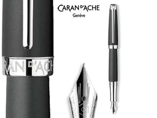 CARAN dACHE/カランダッシュ 【Leman/レマン】マット ブラック 万年筆 BB 4799-516
