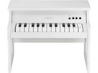 KORG/コルグ tinyPIANO-WH デジタル・トイ・ピアノ (ホワイト) 【子ども用】【ミニピアノ】【贈り物】【入園祝い】【クリスマスプレゼント】