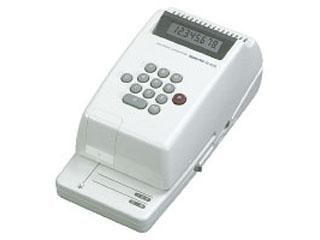 KOKUYO/コクヨ IS-E20 電子チェックライター 印字桁数8桁