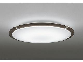 ODELIC/オーデリック OL251446BC LEDシーリングライト エボニーブラウン 飾付【~8畳】【Bluetooth 調光・調色】※リモコン別売