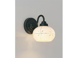 ENDO/遠藤照明 ERB6436W 和風照明 ブラケット 透明カット入ガラス 【電球色】ランプ付