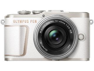 OLYMPUS/オリンパス PEN E-PL10 14-42mm EZ レンズキット(ホワイト) ミラーレス一眼カメラ