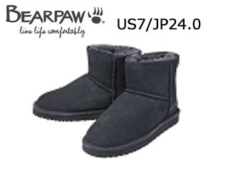 Bear paw/ベアパウ 619LW ムートンブーツ Demi (Charcoal) 【US7/JP24.0】【日本正規品】