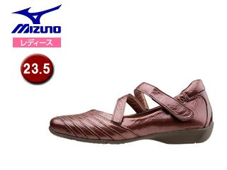 mizuno/ミズノ B1GH1560-64 レディースウォーキングシューズ SELECT525 【23.5】 (エナメルピンク)