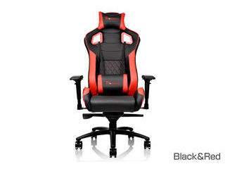 Tt eSPORTS GT Fit ゲーミングチェア Black&Red GC-GTF-BRMFDL-01 【沖縄・九州・北海道・離島お届け不可/配送時間指定不可】