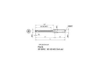 KYOCERA/京セラ ドリル用ホルダ SF20-DRC170M-8