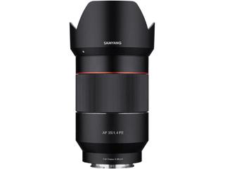 SAMYANG/サムヤン AF35mm F1.4 FE ソニーE マウント Sony E用 フルサイズ 【お洒落なクリーニングクロスプレゼント!】