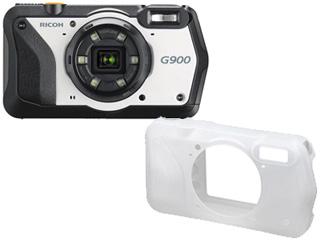 RICOH/リコー G900+O-CC174 プロテクタージャケットセット【g900set】