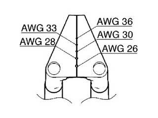 HAKKO/白光 ベント型ブレード 26-36AWG G2-1603
