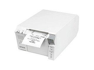 EPSON/エプソン 【キャンセル不可商品】スマートレシートプリンター/ラインサーマル/80mm/PC一体型/ホワイト TM702DT703