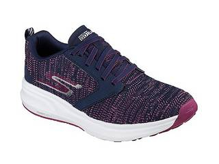 SKECHERS/スケッチャーズ GO RUN RIDE 7 (NVPR)NAVY/PURPLE/25.5cm