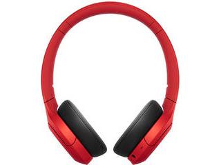 SONY/ソニー ワイヤレスステレオヘッドセット レッド WH-H810R