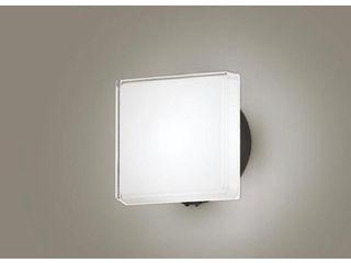 Panasonic/パナソニック LGWC80327LE1 LEDポーチライト オフブラック【昼白色】【明るさセンサ付】【壁直付型】