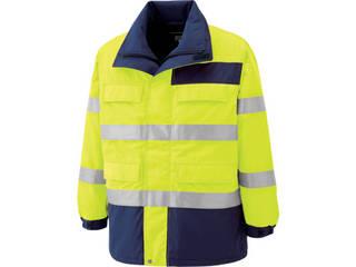 MIDORI ANZEN/ミドリ安全 高視認性 防水帯電防止防寒コート イエロー Sサイズ SE1124-UE-S