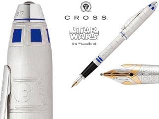 CROSS/クロス 【TOWNSEND/タウンゼント】R2-D2 万年筆 F AT0046D-48FD