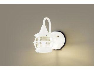 Panasonic/パナソニック LGWC85218K LEDポーチライト ホワイト【電球色】【明るさセンサ付】【壁直付型】