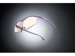 Hazuki Company/ハズキ 【Hazuki/ハズキルーペ】メガネ型拡大鏡 ラージ カラーレンズ 1.6倍 ニューパープル 【ムラウチドットコムはハズキルーペ正規販売店です】