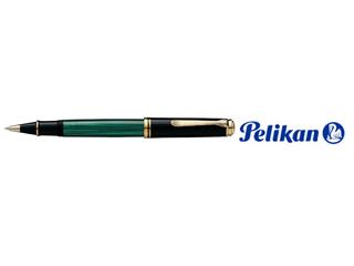 Pelikan/ペリカン 【Souveran/スーベレーン】R800 緑縞 ローラーボール
