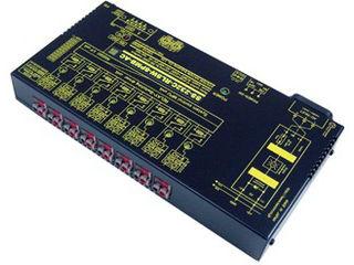 システムサコム工業 RS232Cリレースイッチユニット[独立8ch]【絶縁タイプ】(AC90~240V仕様) SS-232C-RLSW-8PMB-AC