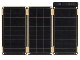 YOLK ヨーク ソーラー充電器 Solar Paper ソーラー ペーパー 7.5W YO8999 2ポート /ソーラーチャージャータイプ