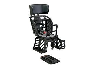 自転車用チャイルドシート OGK オージーケー 激安セール 着脱ヘッドレスト付 うしろ子供のせ 完成品 黒 21445 RBC-009DXF3-B2 SALE グレー
