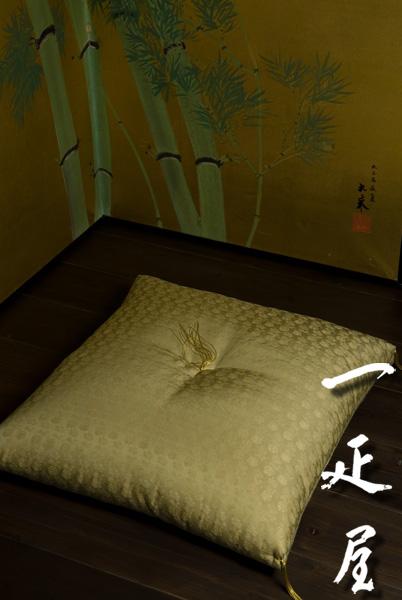 緞子(福寿)座布団 65×69cm ※夫婦判