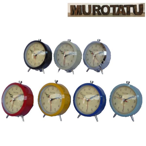 目覚まし時計 ダルトン アラームクロック アメリカン雑貨  DULTON ALARM CLOCK QUARTZ MOVEMENT