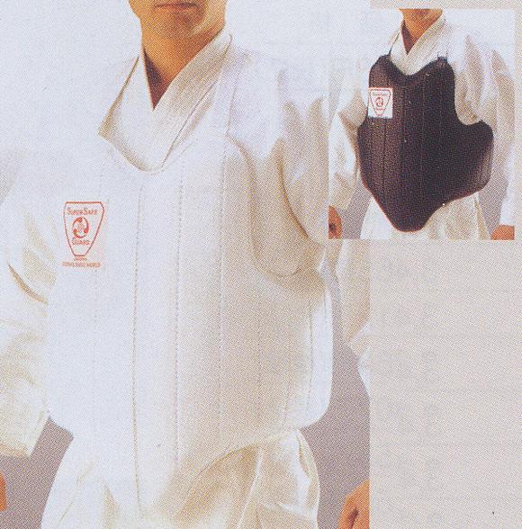 【松勘 空手道】 スーパーセーフ胴 大人用 【送料無料】SS-3