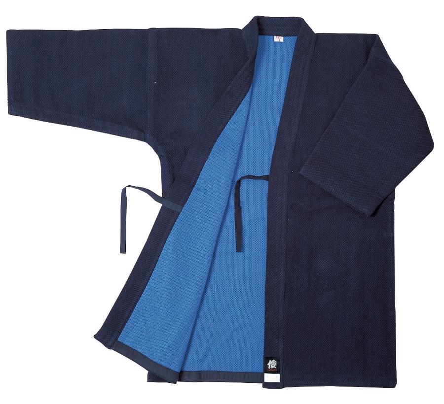 【松勘 剣道着】一重織剣道着 KG-300AZ(藍染) テッククリーンA.Z.