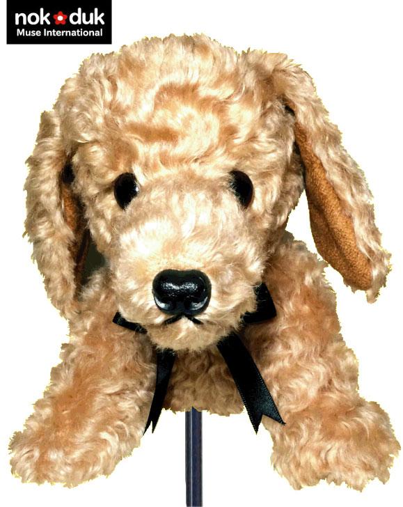 nokduk ゴルフ アイアン カバー アニマルシリーズ 犬 モヘア製 丁寧な手作り 可愛い犬のアイアンカバー 動物キャラクター おもしろ ウッドカバー クラブカバー ドライバーカバー パターカバー ゴルフヘッドカバー ギフト プレゼント クリスマス