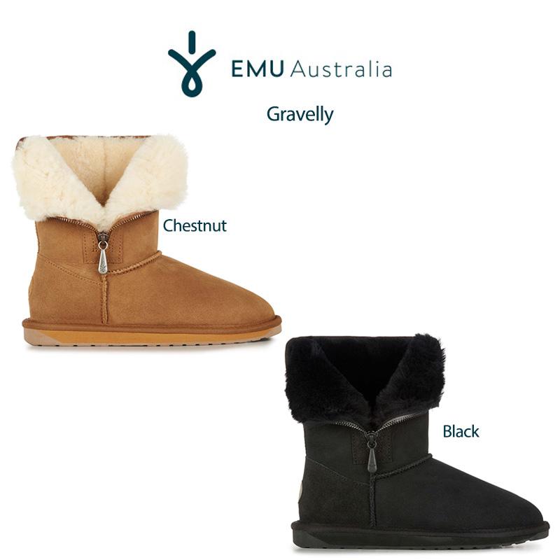 SALE35%OFF (日本正規販売店) EMU (エミュー) Australia 通販 Stinger Lo Zip ムートンブーツ w12072 スティンガーロージップ 24cm/25cm w12072 足の冷え対策