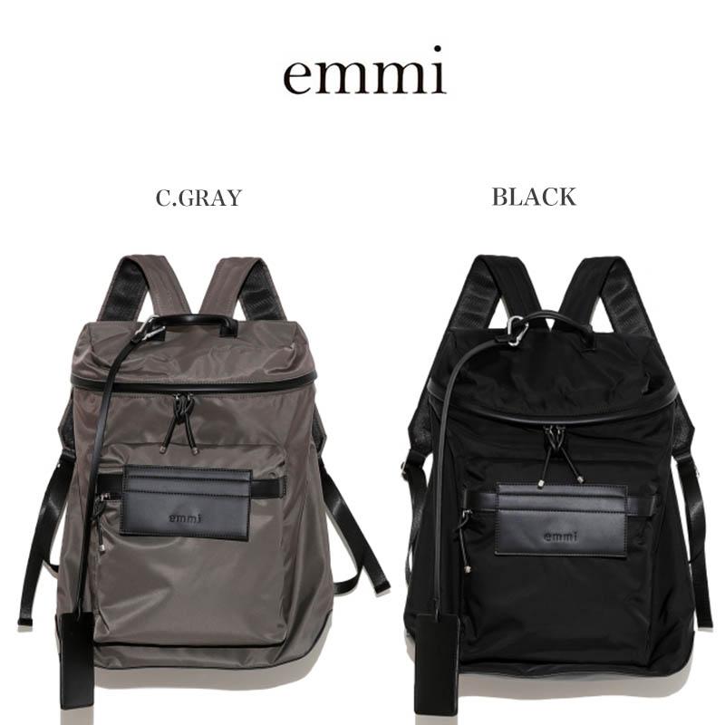 emmi エミ 通販 【emmi atelier】ecoポリベーシックバックパック2 13wgb201301/2020春夏 BAG