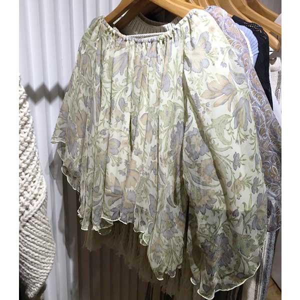SALE40%OFF TODAYFUL トゥデイフル Silk Print Blouse シルクプリントブラウス 11710420【ラッキーシール対応】