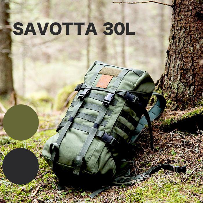 (マラソン限定ポイント10倍)SAVOTTA イエーガーバックパック 30リットル オリーブ色 10-02-savo-0011 Bush Craft inc. ブッシュクラフト