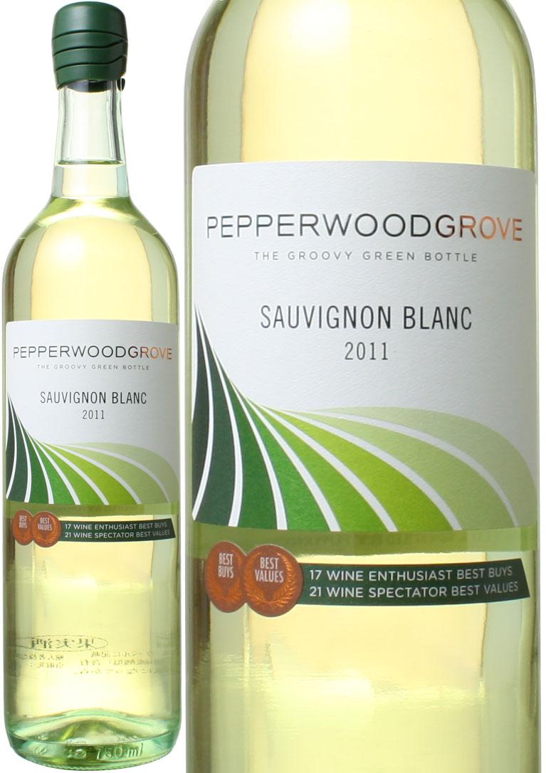 ソーヴィニヨン ブラン カリフォルニア 2018 ペッパーウッド アメリカ グローヴ 定番 白 爆買い新作 ワイン