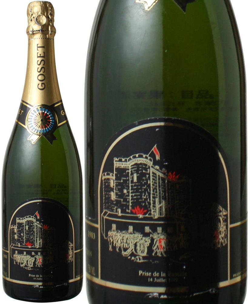 【送料無料】ゴッセ キュヴェ・スペシャル サントネール [1983] <白> <ワイン/シャンパン>