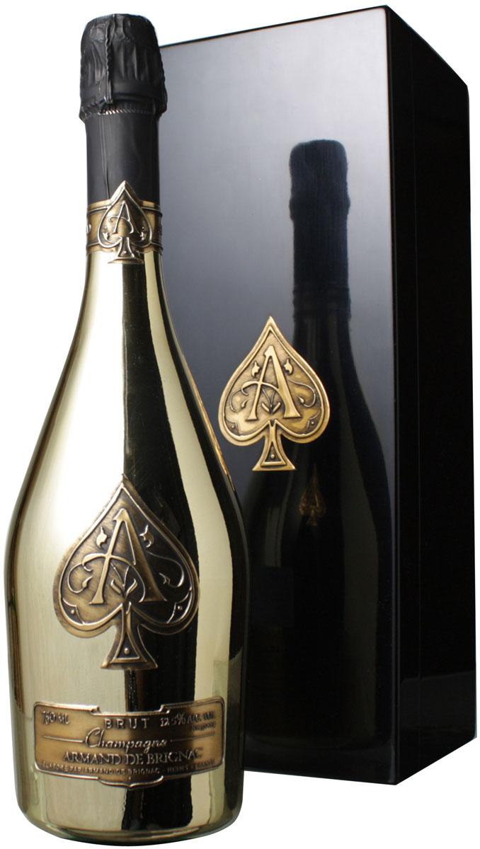 【送料無料】アルマン・ド・ブリニャック 専用木箱つき NV <白> <ワイン/シャンパン>