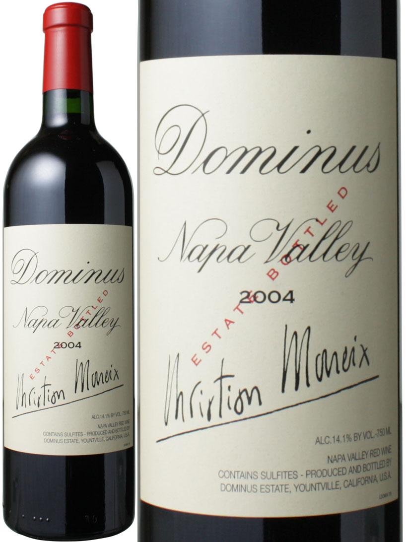 【送料無料】ドミナス・エステート [2004] <赤> <ワイン/アメリカ>