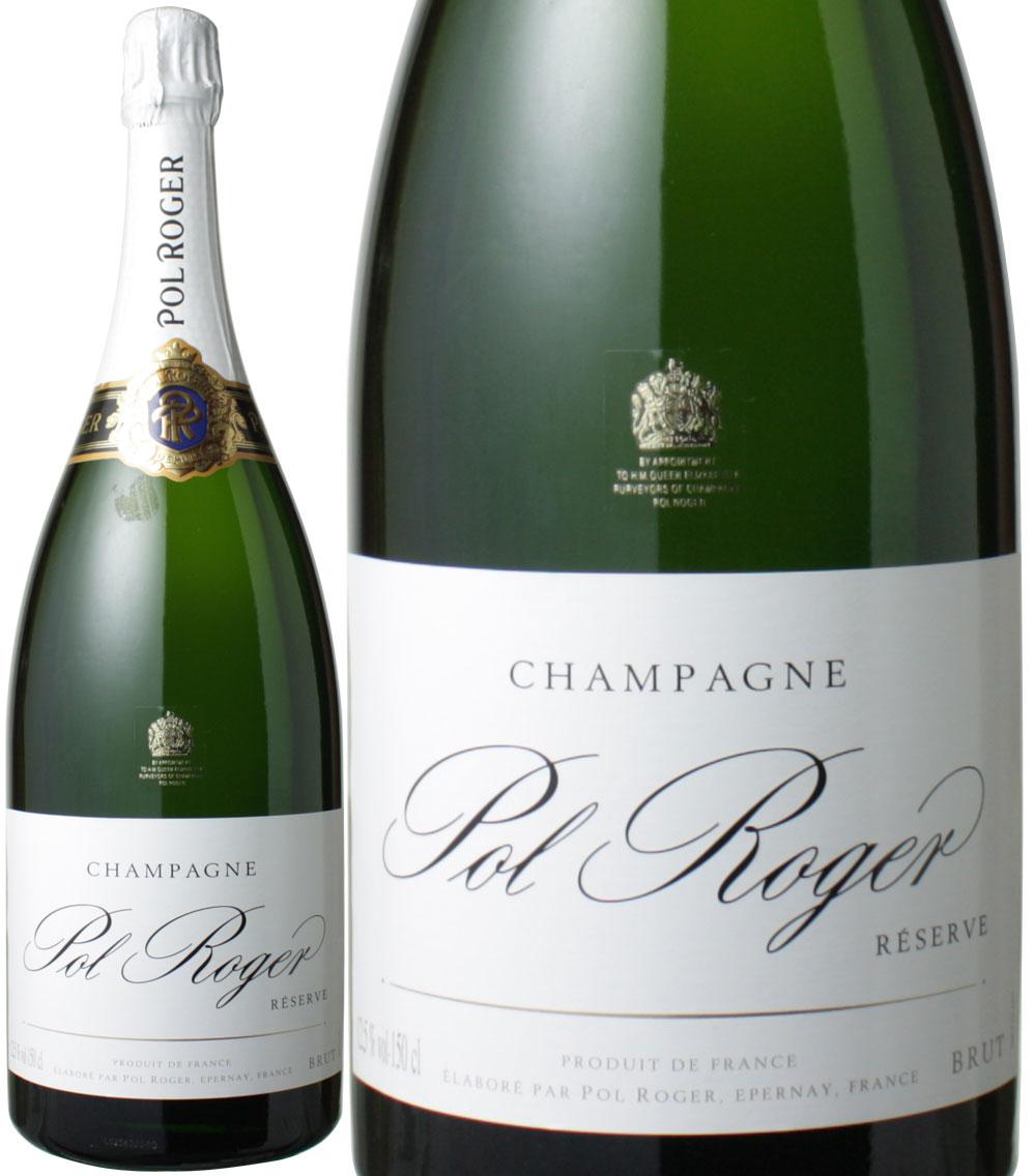 【送料無料】ポル・ロジェ ブリュット・レゼルヴ マグナムサイズ 1.5L NV <白> <ワイン/シャンパン>