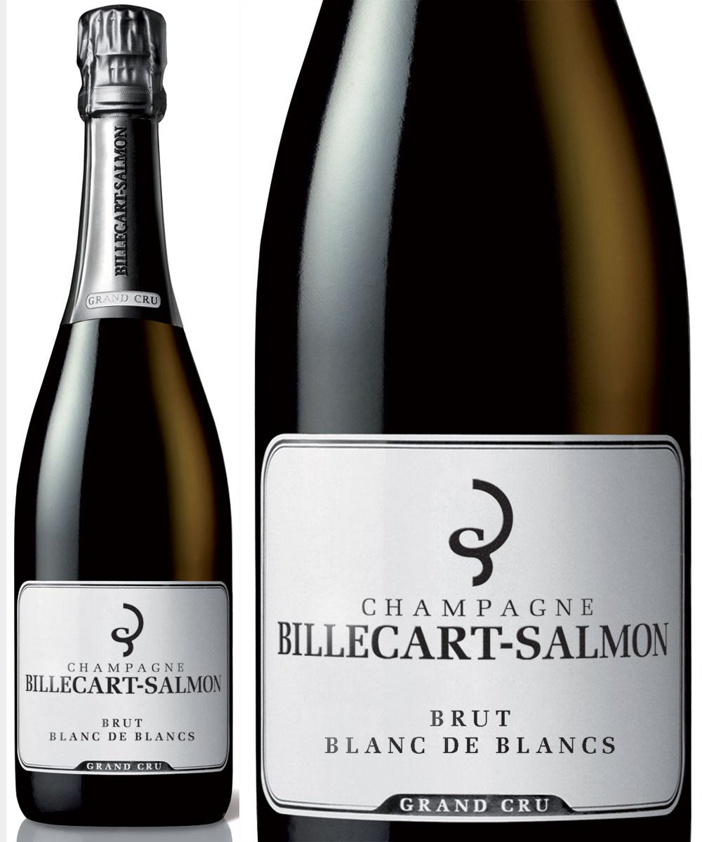 シャンパン 正規品 ビルカール グラン NV 白 ブラン ド ブリュット クリュ ブラン 辛口 サルモン 750ml Billecart Salmon Brut Blanc de Blancs Grand Cru NV