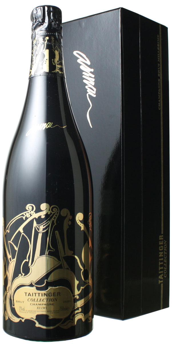 【ヤマト運輸で厳重梱包配送!】テタンジェ コレクション [1981] <白> <ワイン/シャンパン>