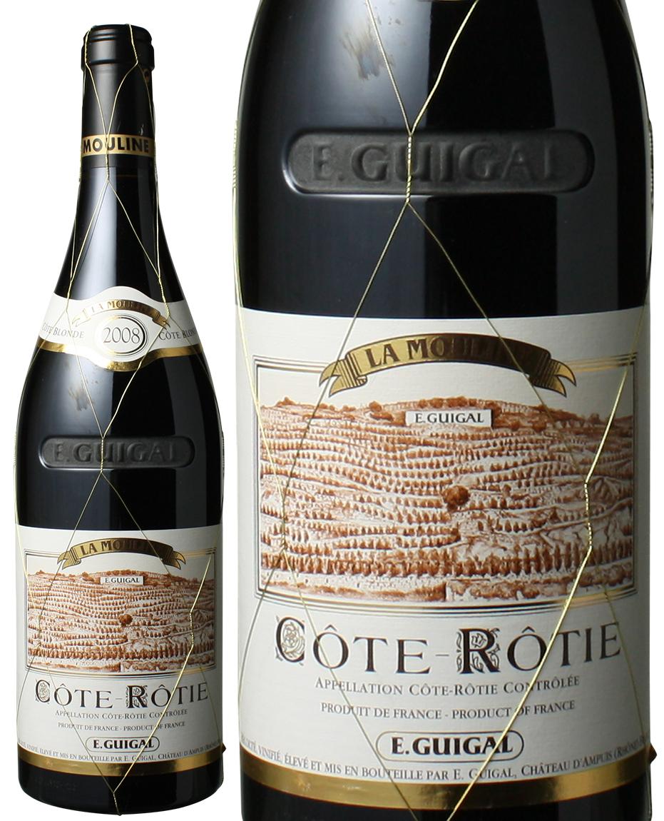 【送料無料】コート・ロティ ラ・ムーリンヌ [2008] ギガル <赤> <ワイン/ローヌ>